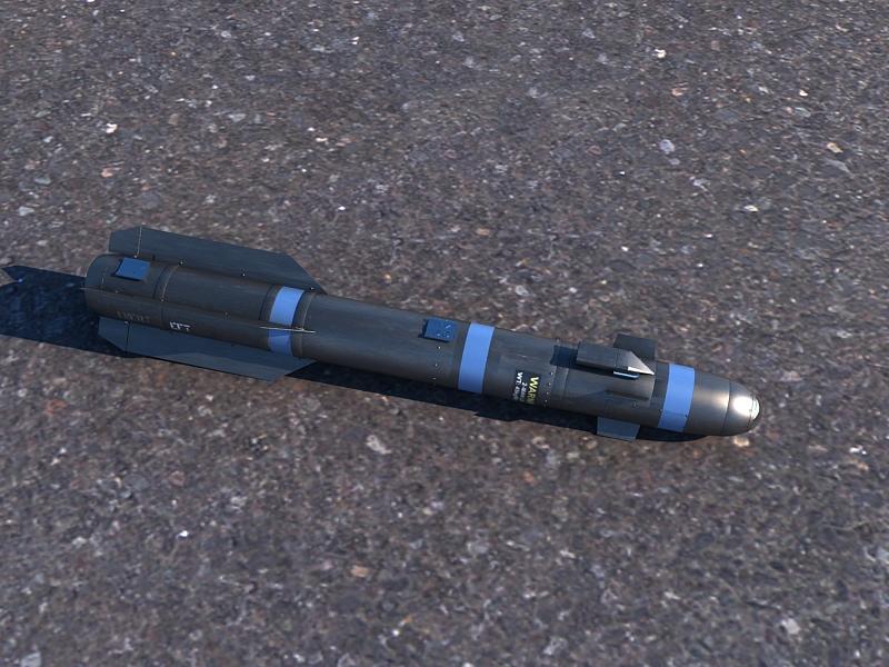 agm-114 hellfire ii missile 3d model max 161060