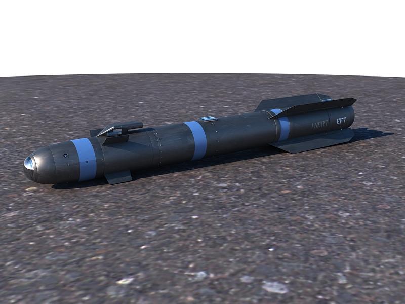 AGM-114 Hellfire II Missile ( 248.25KB jpg by S.E )