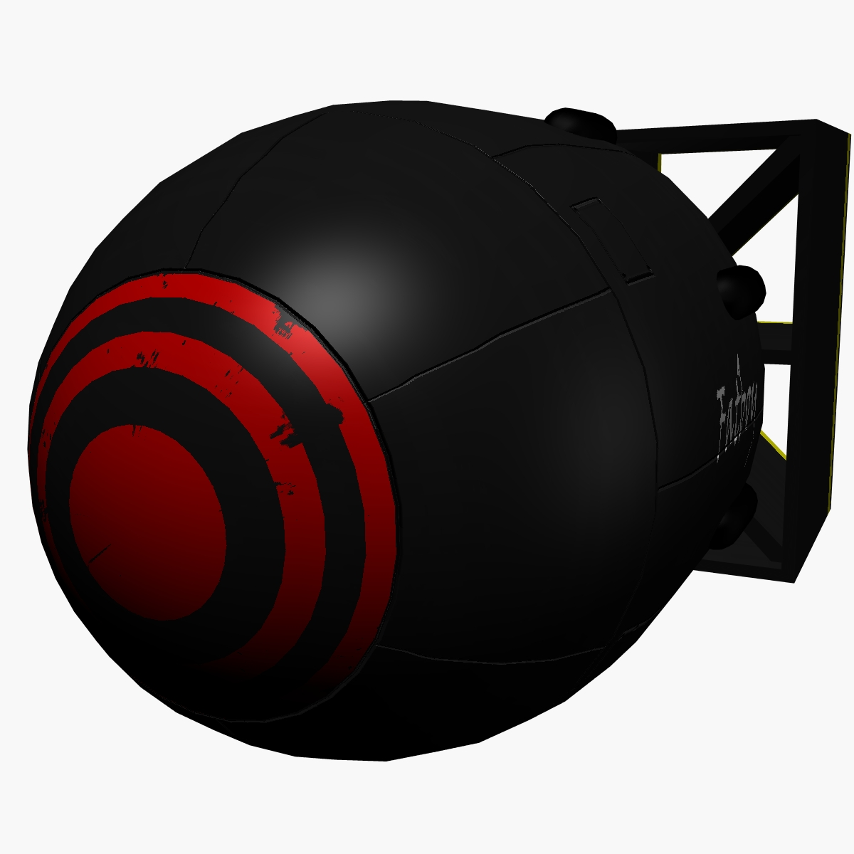 bomb with fatboy scheme 3d model 3ds dxf fbx blend cob dae x obj 162693