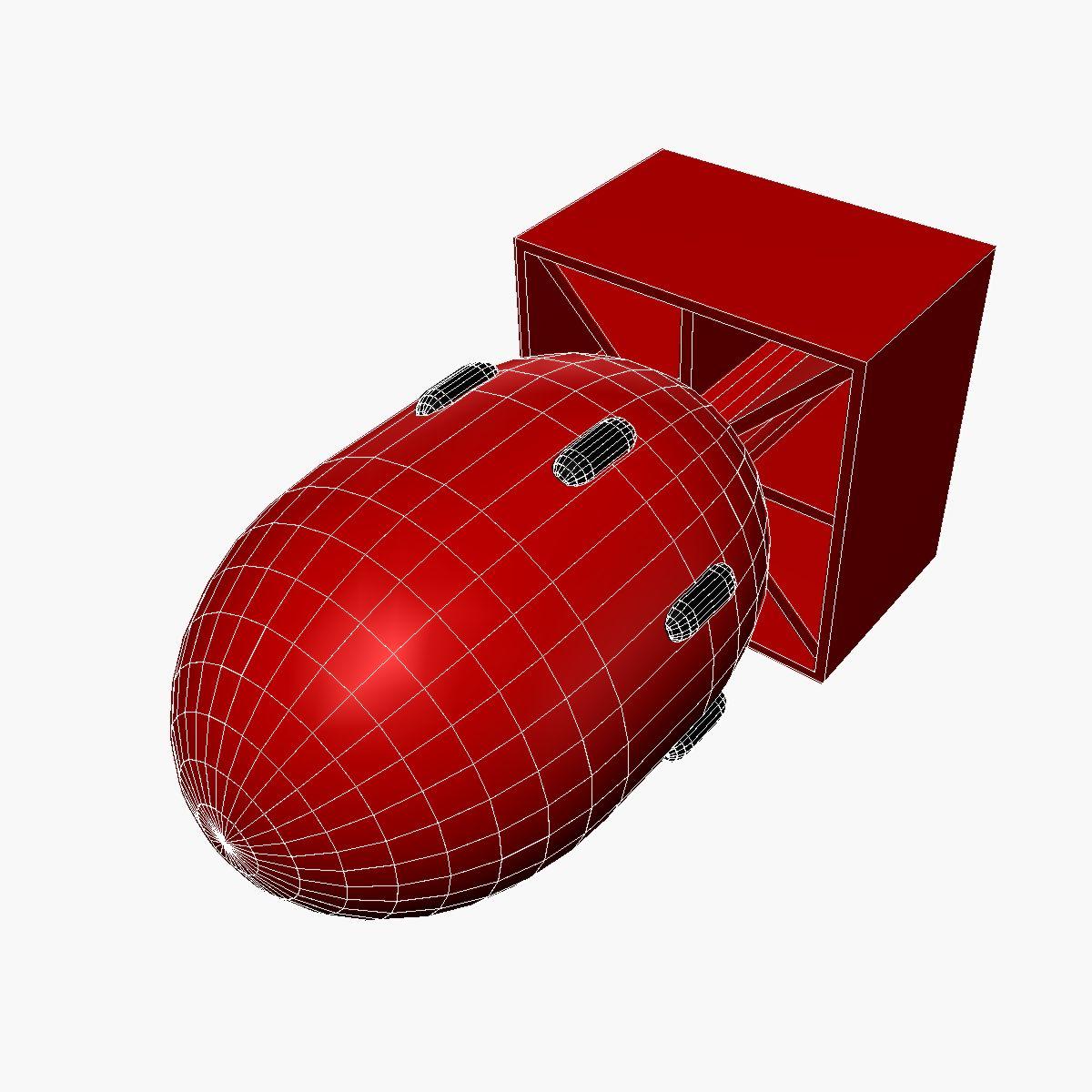 bomb with fatboy scheme 3d model 3ds dxf fbx blend cob dae x obj 162696