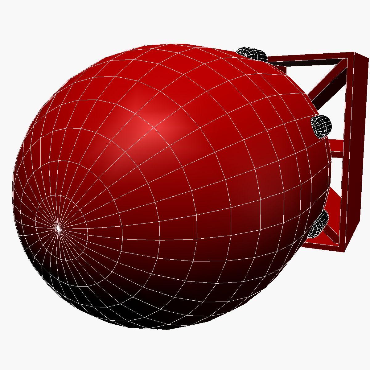 bomb with fatboy scheme 3d model 3ds dxf fbx blend cob dae x obj 162697