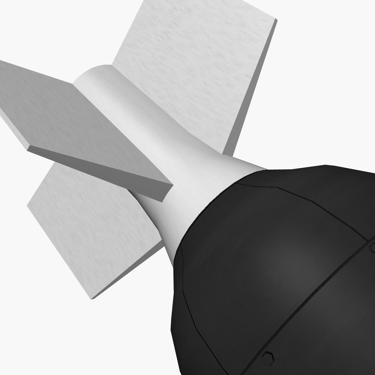 Bomb, Jolly Roger scheme 3d model 3ds dxf fbx blend cob dae X obj 162669