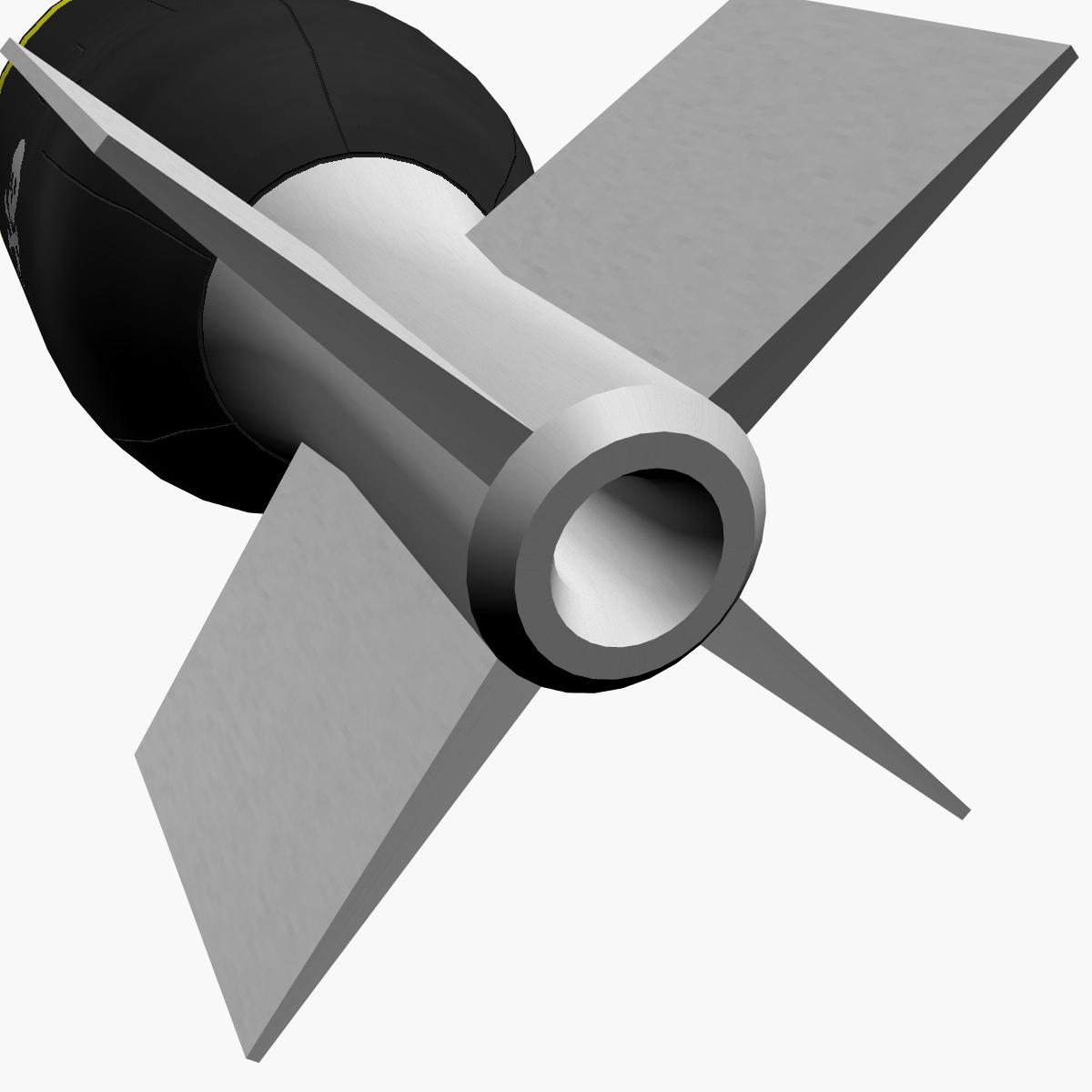 Bomb, Jolly Roger scheme 3d model 3ds dxf fbx blend cob dae X obj 162674