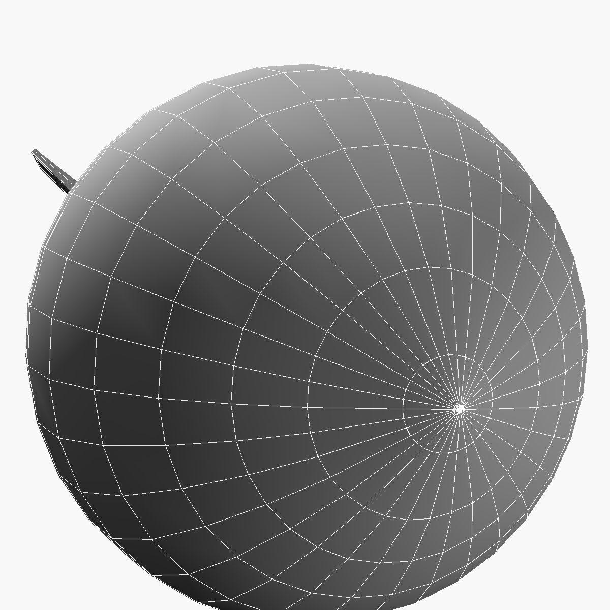 Bomb, Jolly Roger scheme 3d model 3ds dxf fbx blend cob dae X obj 162680