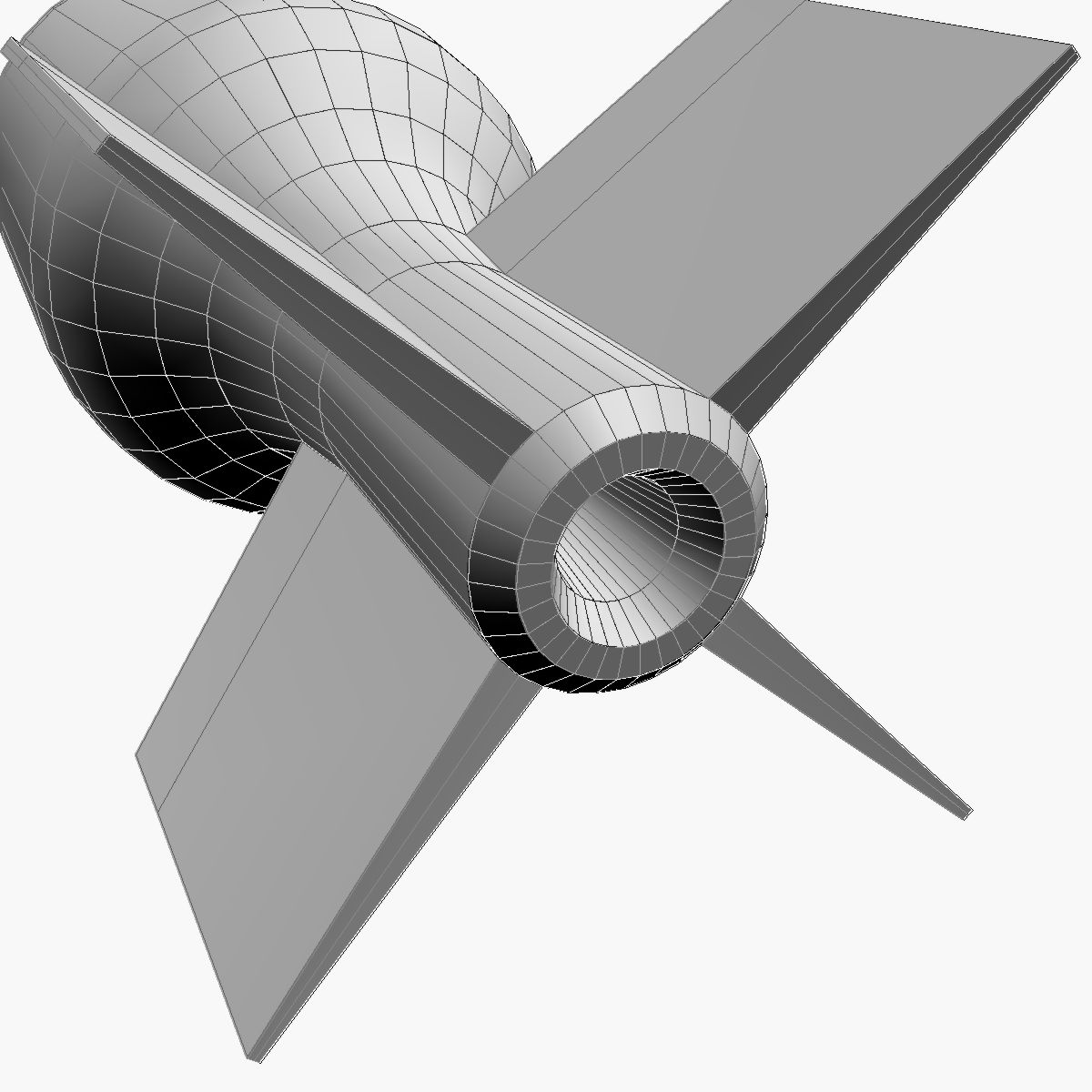 Bomb, Jolly Roger scheme 3d model 3ds dxf fbx blend cob dae X obj 162682