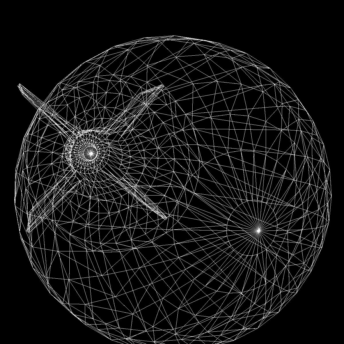 Bomb, Jolly Roger scheme 3d model 3ds dxf fbx blend cob dae X obj 162688