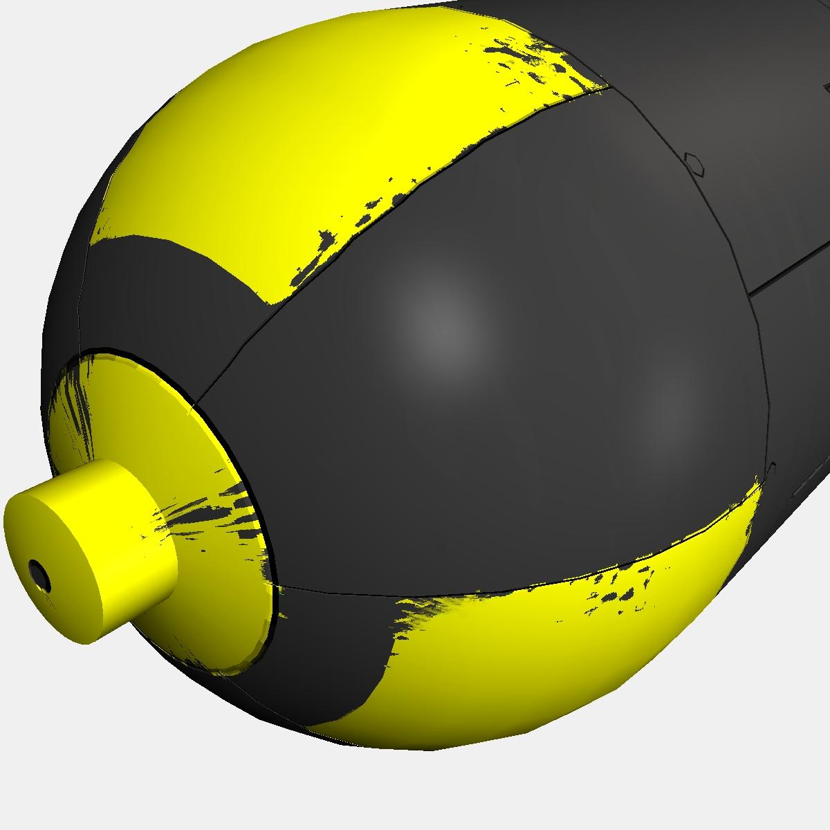 Nuclear schemed bomb 3d model 3ds dxf fbx blend cob dae X obj 162655