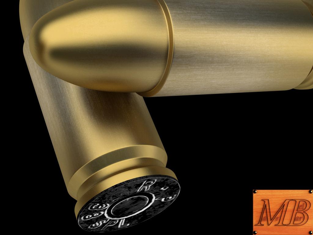 bullet .38 3d model 3ds max fbx c4d obj 156239