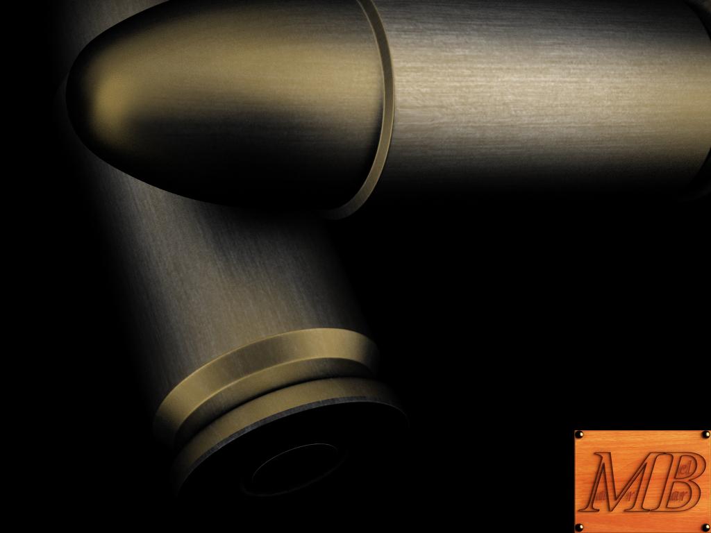 bullet .38 3d model 3ds max fbx c4d obj 156240