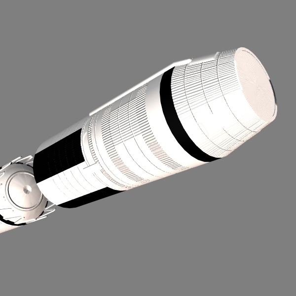 chinese css-4 icbm 3d model 3ds dxf x cod scn obj 133138