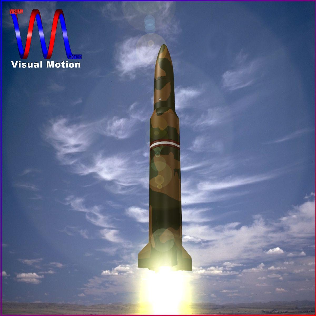 БНХАУ DF-16 баллистик пуужин 3d загвар 3ds dxf cob x obj 152669