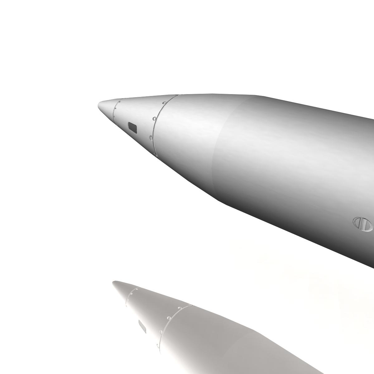 БНХАУ-ын С-400 пуужин 3d загвар 3ds dxf cob x obj 157962