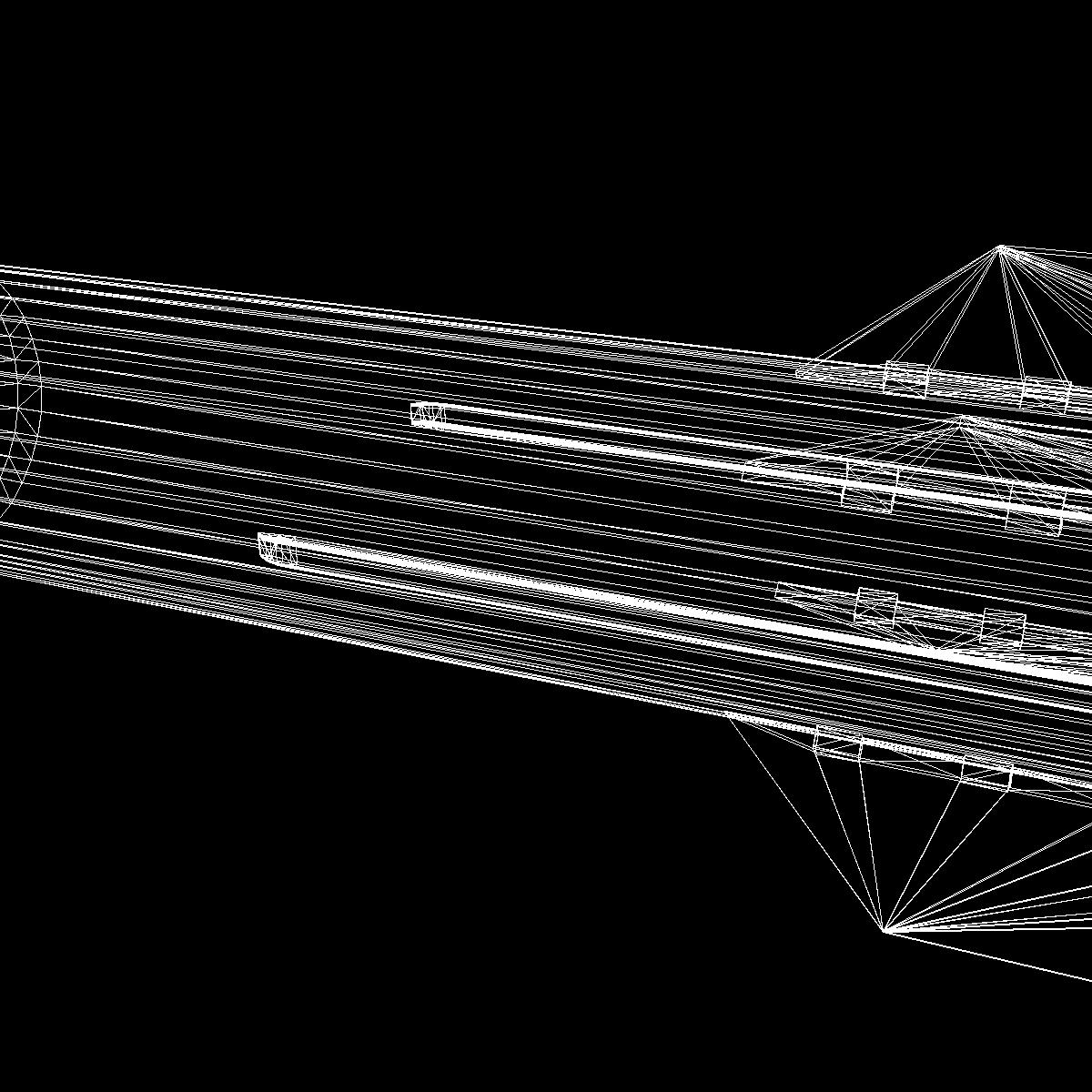 БНХАУ-ын С-400 пуужин 3d загвар 3ds dxf cob x obj 157967
