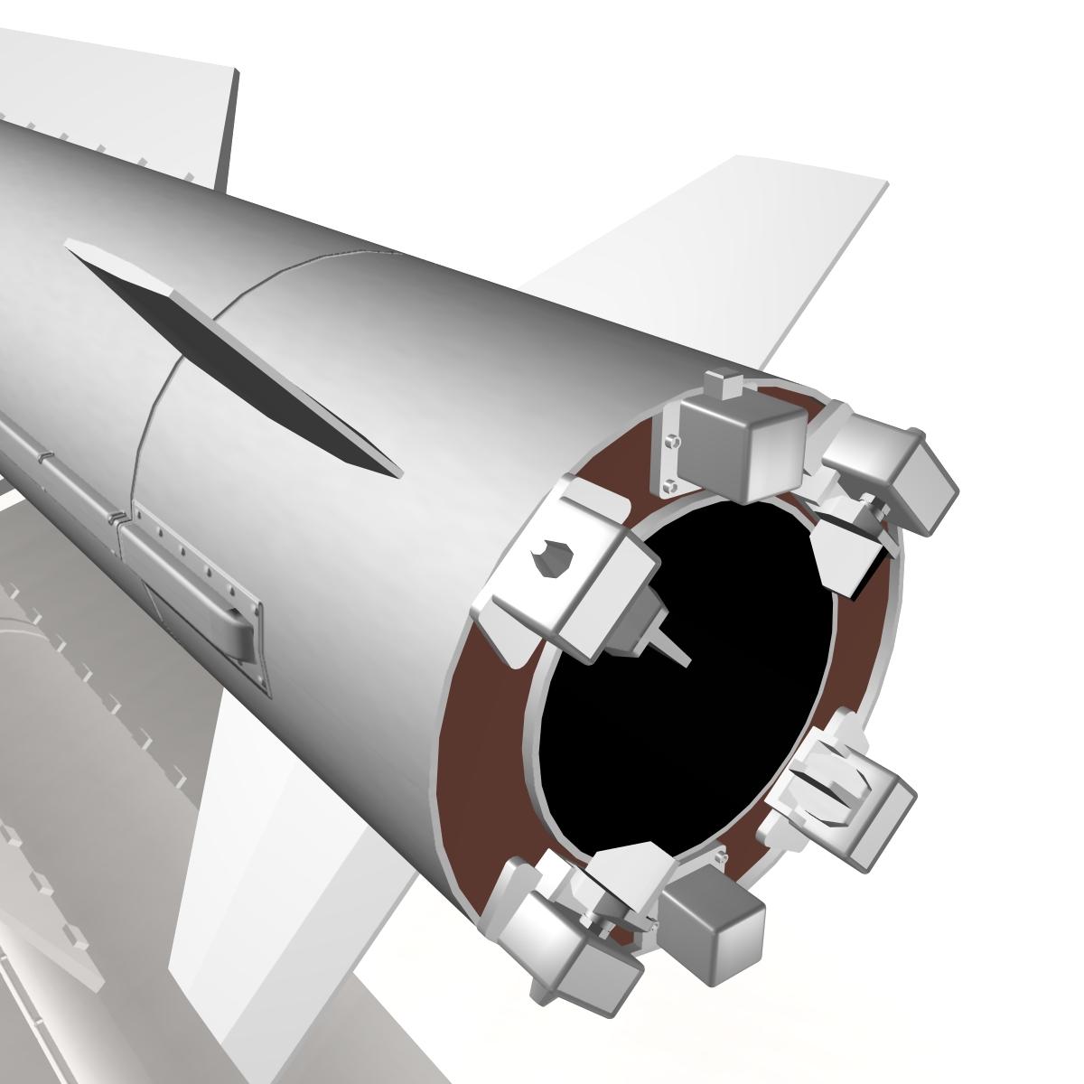 БНХАУ-ын С-400 пуужин 3d загвар 3ds dxf cob x obj 157968