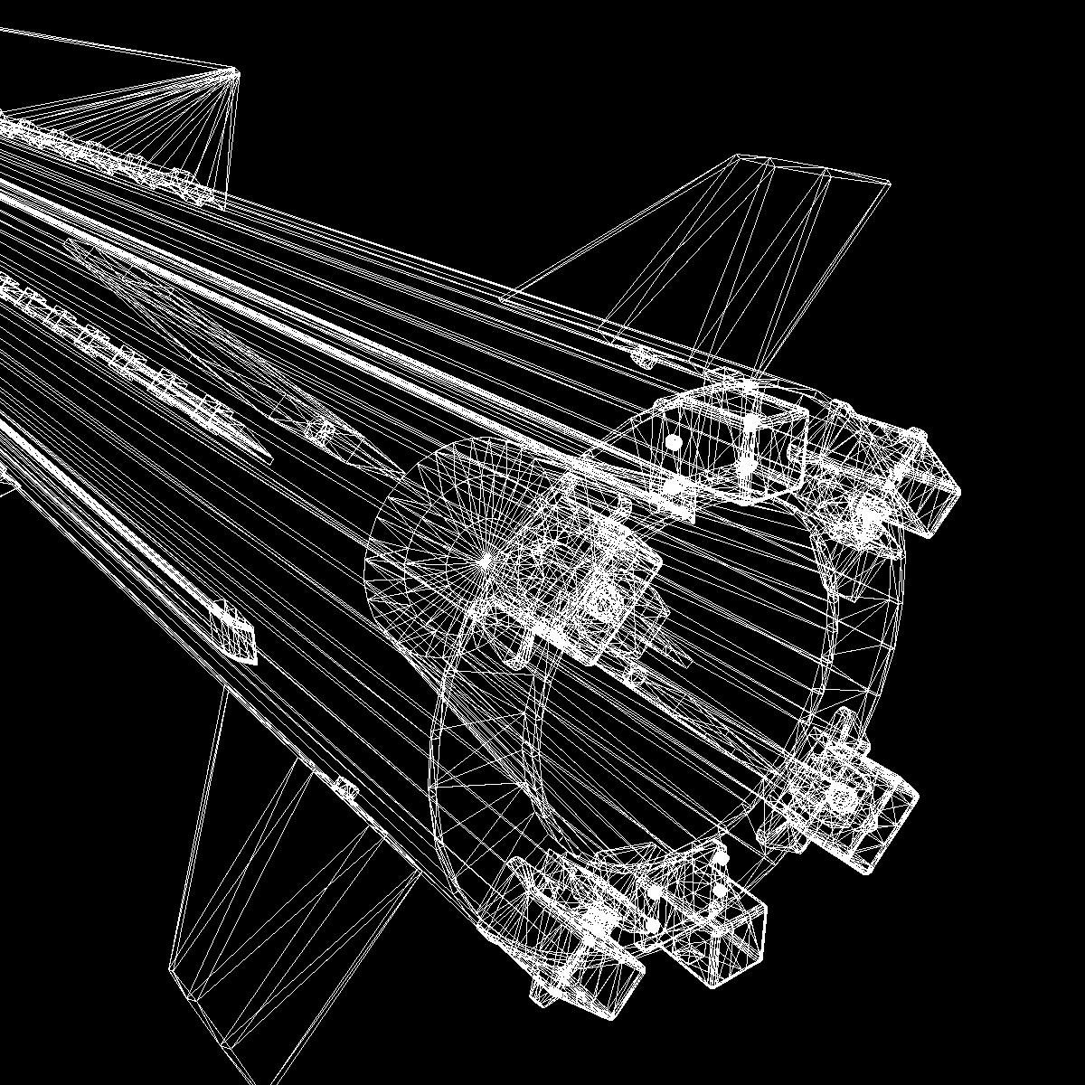 БНХАУ-ын С-400 пуужин 3d загвар 3ds dxf cob x obj 157970