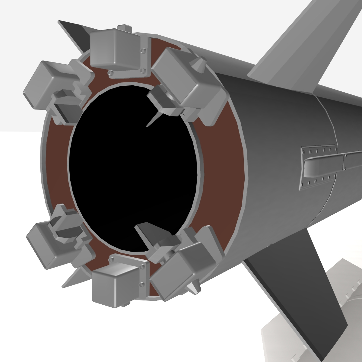 БНХАУ-ын С-400 пуужин 3d загвар 3ds dxf cob x obj 157971