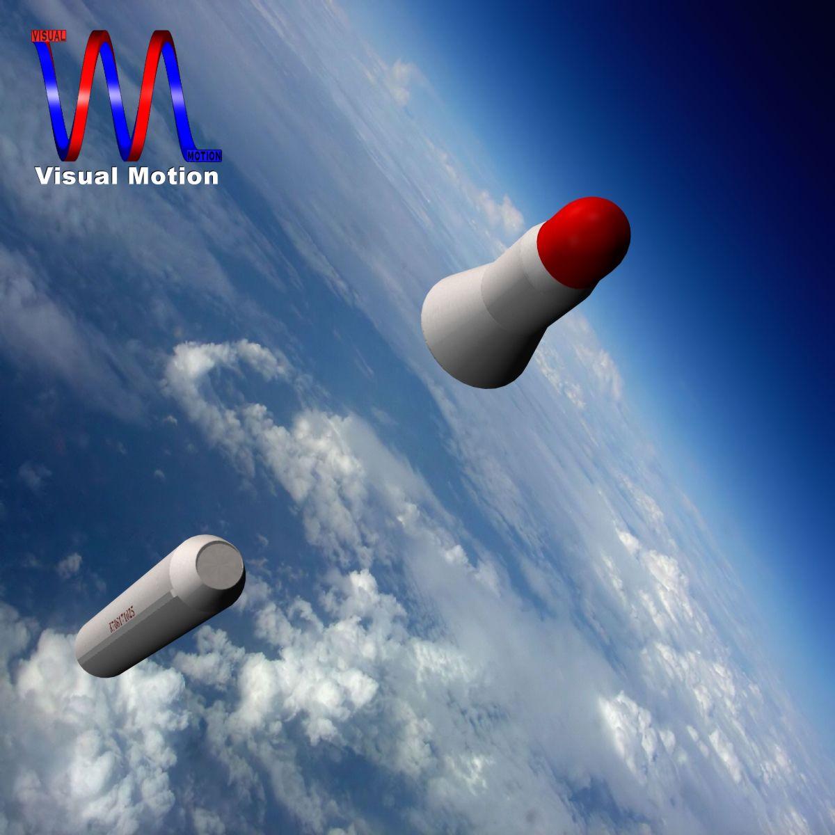 dprk bm25 musudan missile 3d model 3ds dxf x cod scn obj 149589
