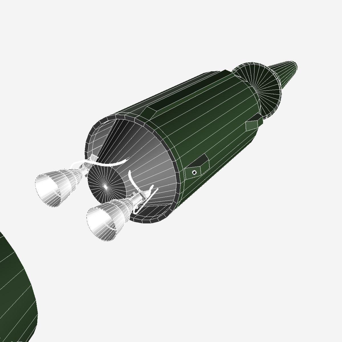 dprk kn-08 no dong-c пуужин 3d загвар 3ds dxf cob x obj 151631