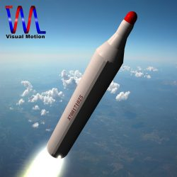 DPRK BM25 Musudan Missile ( 103.53KB jpg by VisualMotion )