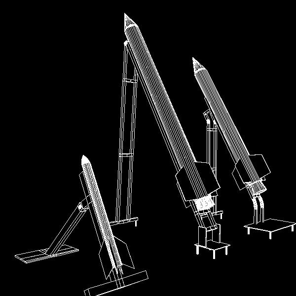 hamas qassam ar 3d model 3ds dxf cob x obj 138900