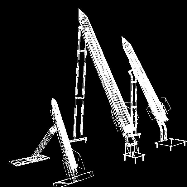 hamas qassam ar 3d model 3ds dxf cob x obj 138901