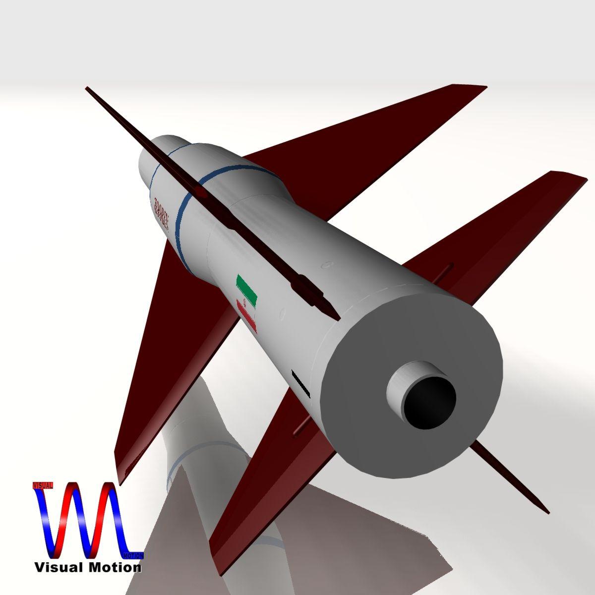 iranian agm-379 zoobin asm missile 3d model 3ds dxf fbx blend cob dae x obj 150582