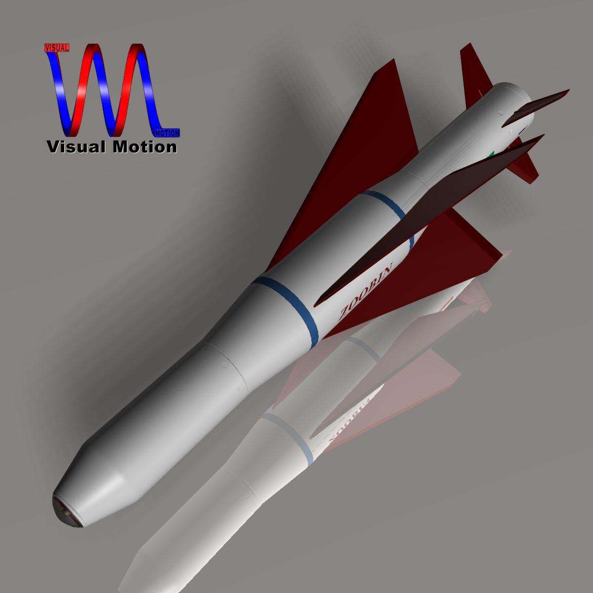 iranian agm-379 zoobin asm missile 3d model 3ds dxf fbx blend cob dae x obj 150583
