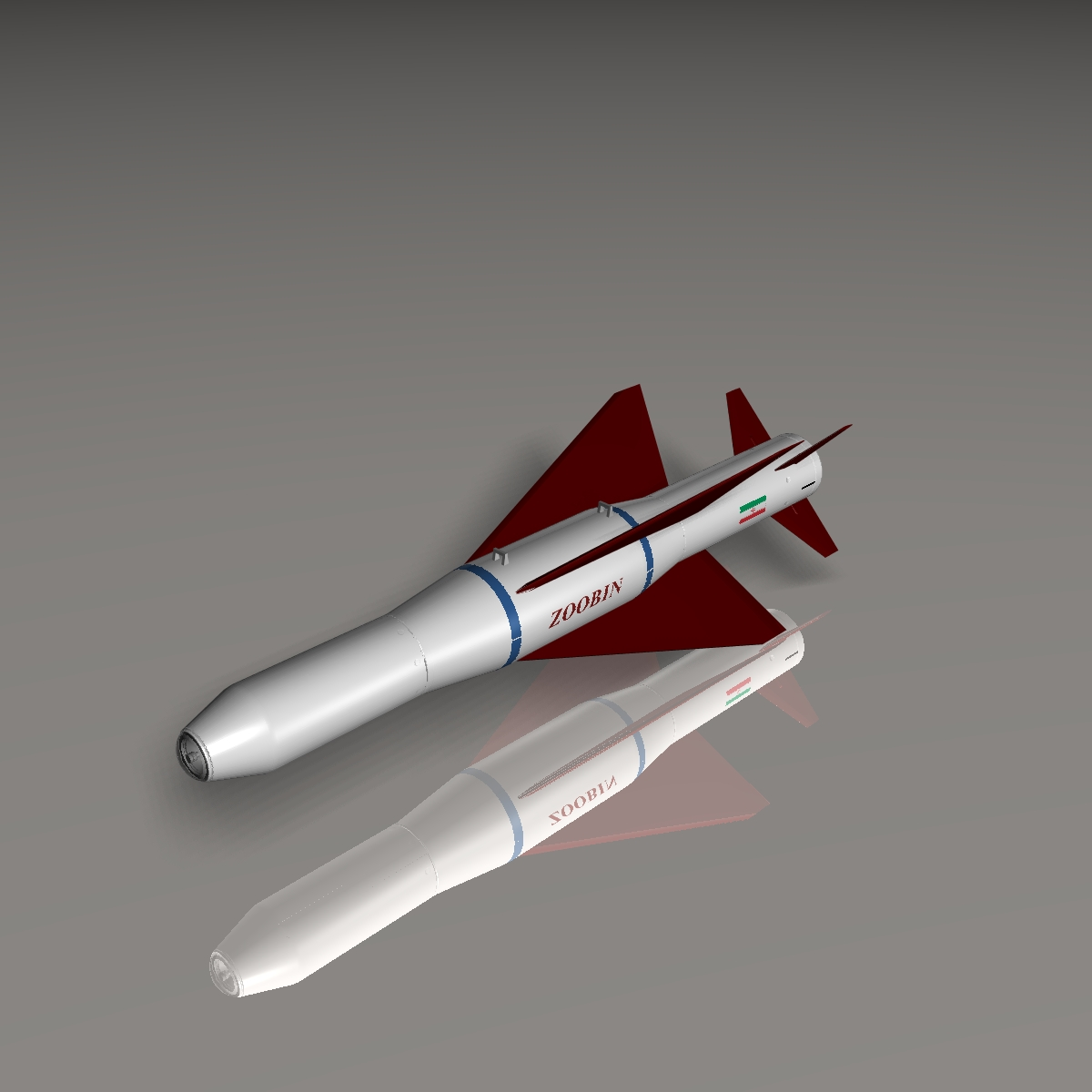iranian agm-379 zoobin asm missile 3d model 3ds dxf fbx blend cob dae x obj 150584