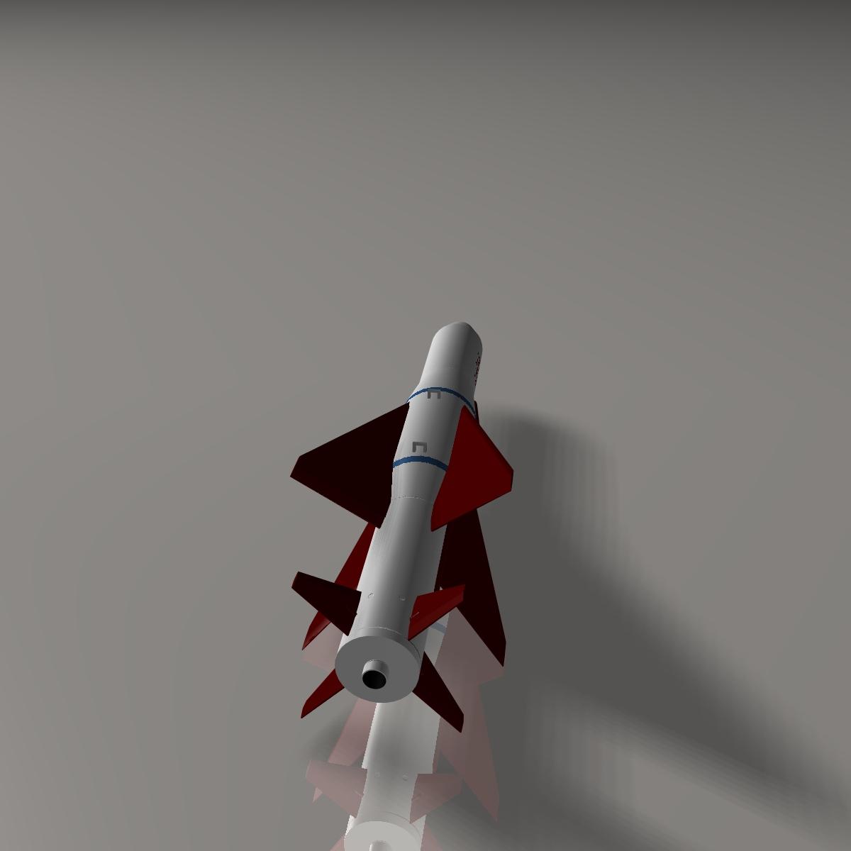 iranian agm-379 zoobin asm missile 3d model 3ds dxf fbx blend cob dae x obj 150588