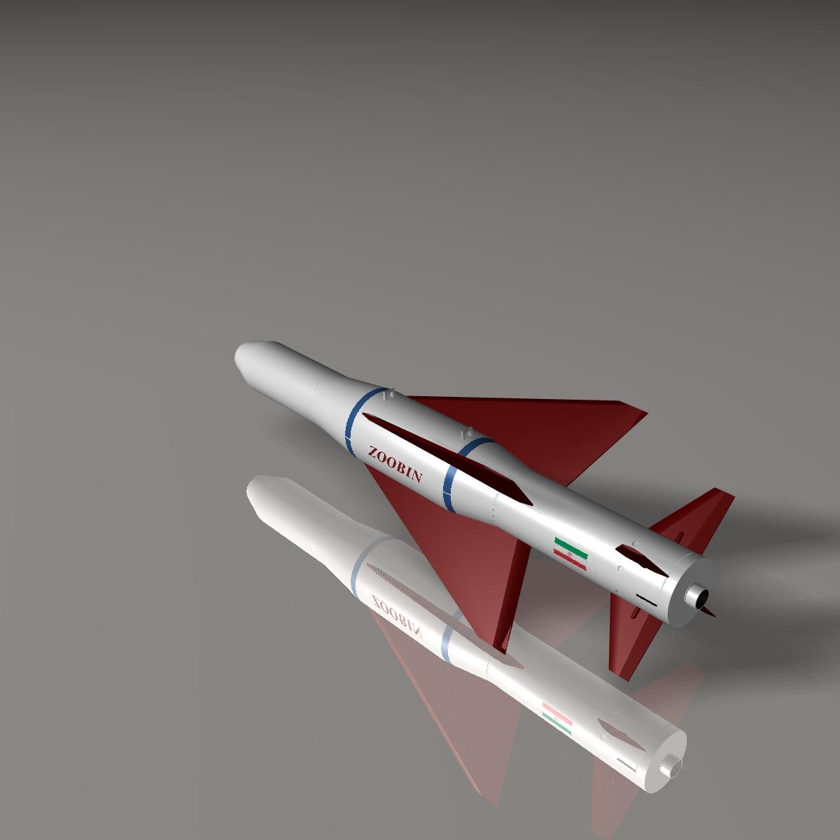 iranian agm-379 zoobin asm missile 3d model 3ds dxf fbx blend cob dae x obj 150589