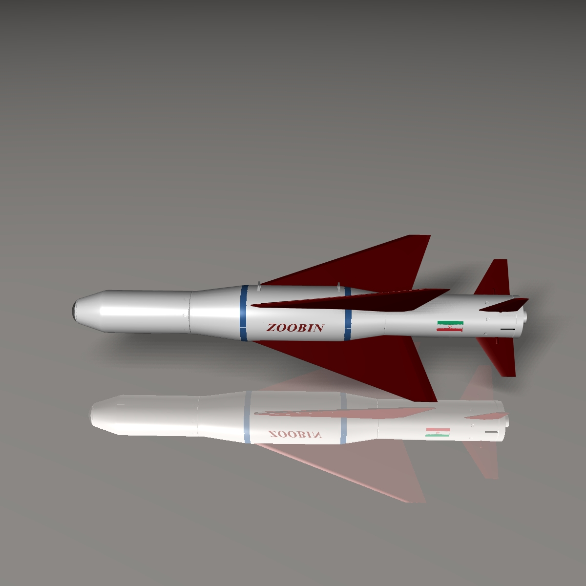 iranian agm-379 zoobin asm missile 3d model 3ds dxf fbx blend cob dae x obj 150590