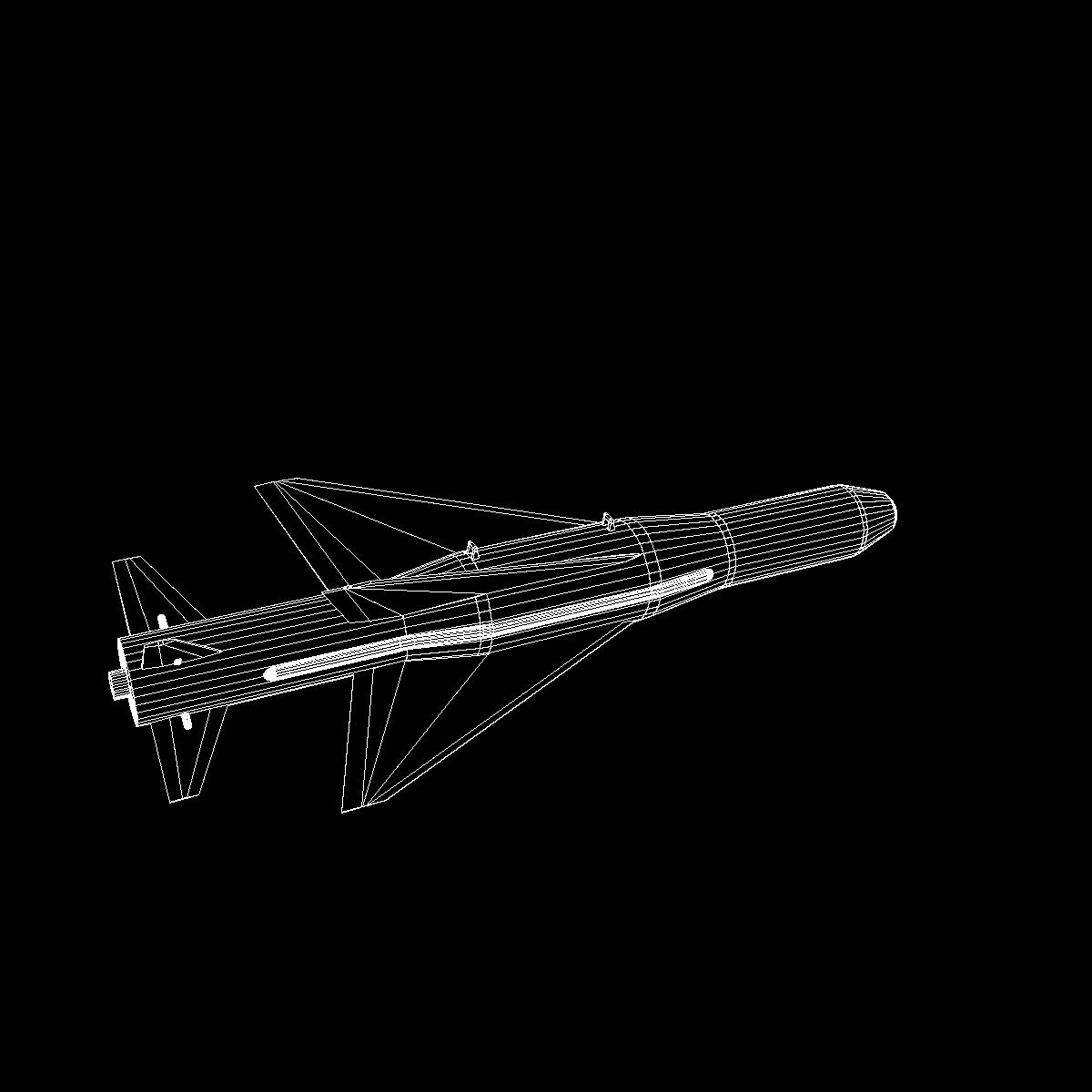 iranian agm-379 zoobin asm missile 3d model 3ds dxf fbx blend cob dae x obj 150596