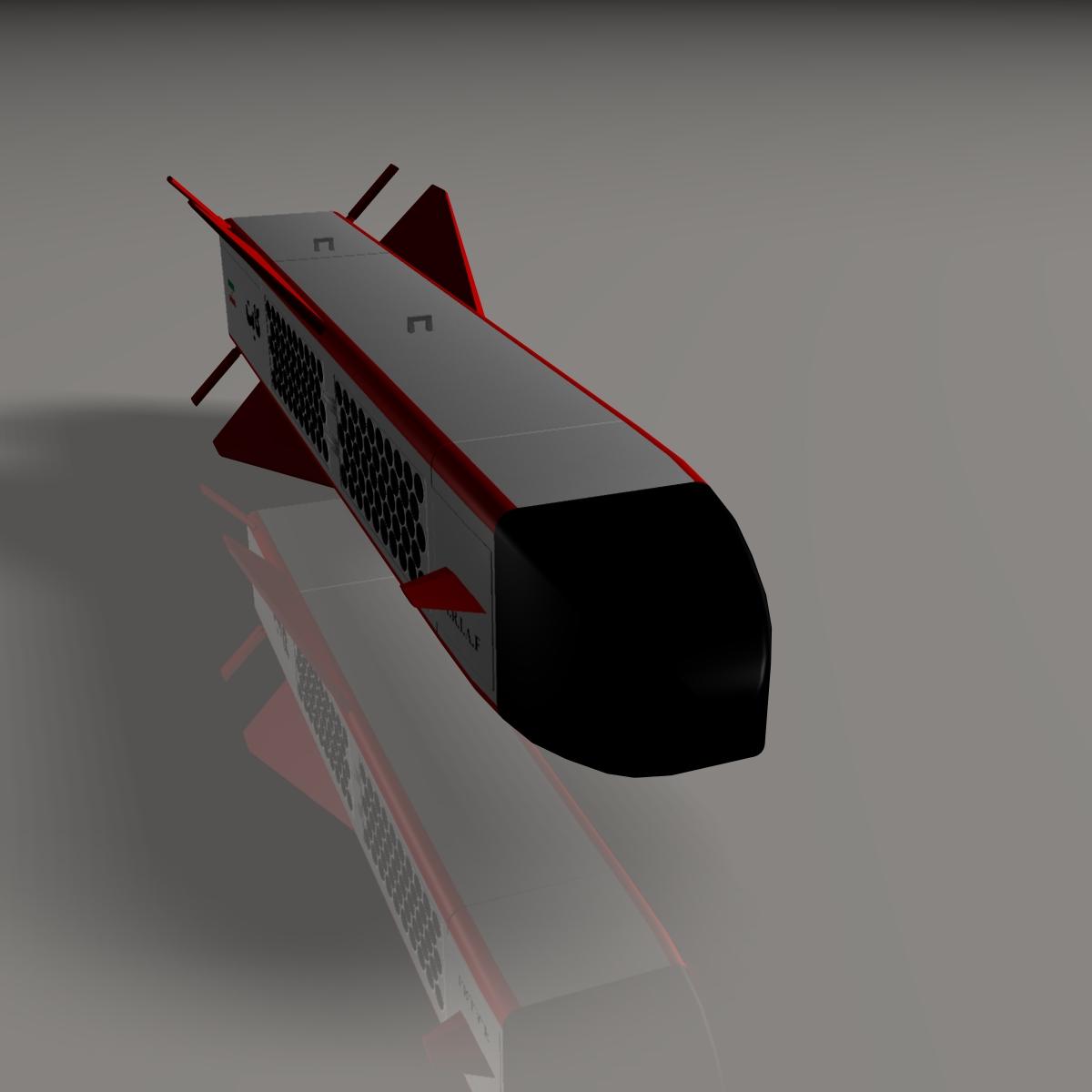 iranian kite, 184 round 3d model 3ds dxf cob x obj 146851