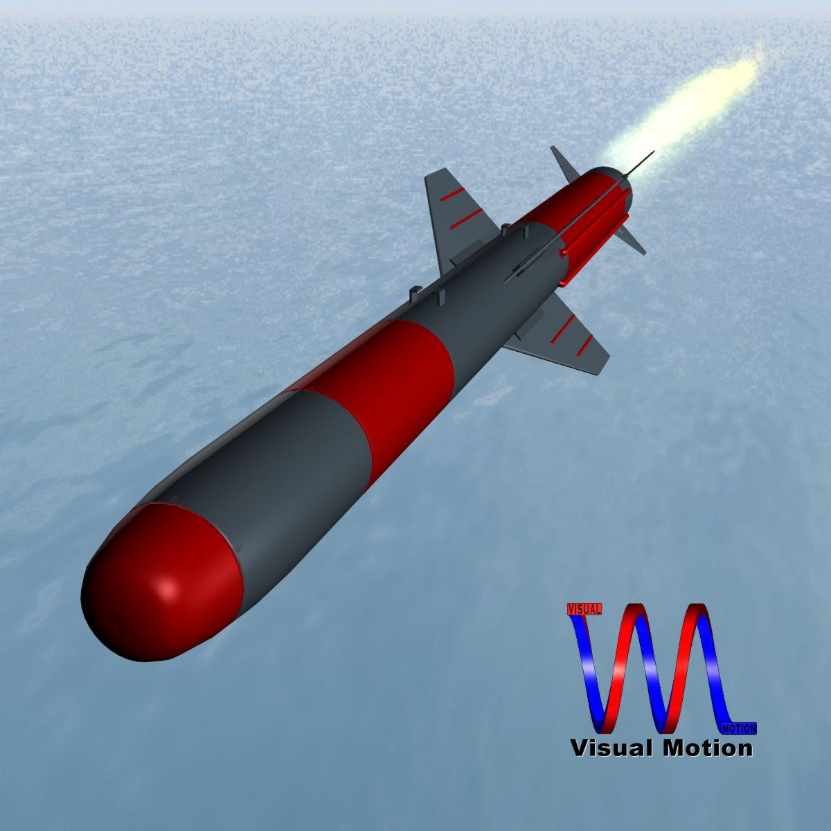 iranian koswar missile 3d model 3ds dxf x cod scn obj 149759