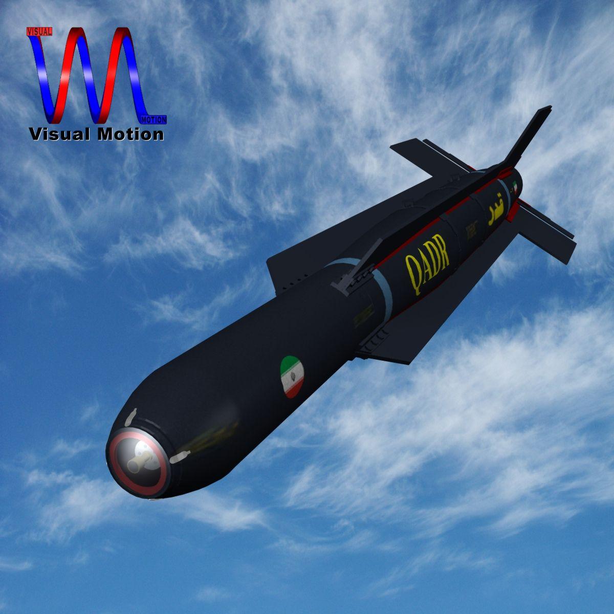 iranian qadr bomb 3d model 3ds dxf x cod scn obj 149551