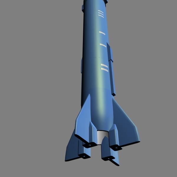 iranian sejil-2 3d model 3ds dxf cob x obj 147232