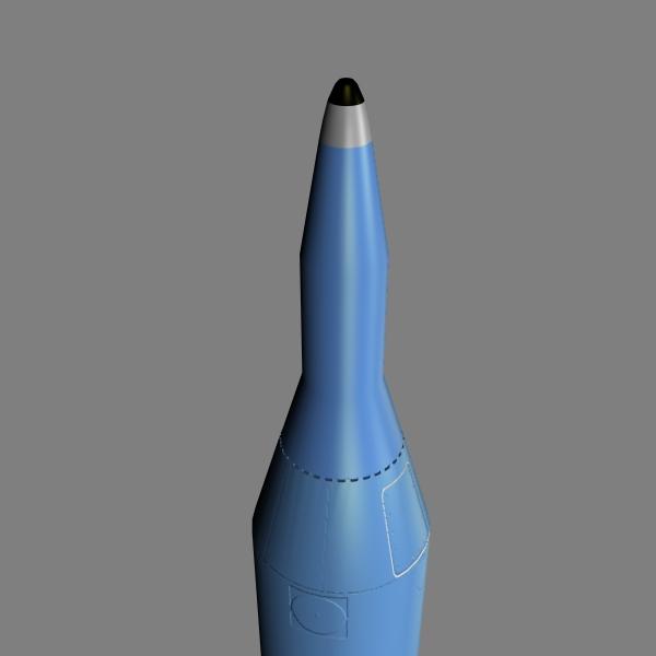iranian sejil-2 3d model 3ds dxf cob x obj 147235
