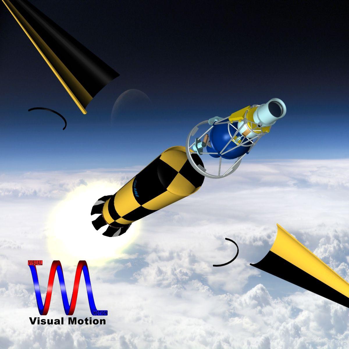 israeli arrow 3 missile 3d model 3ds dxf cob x other obj 136283