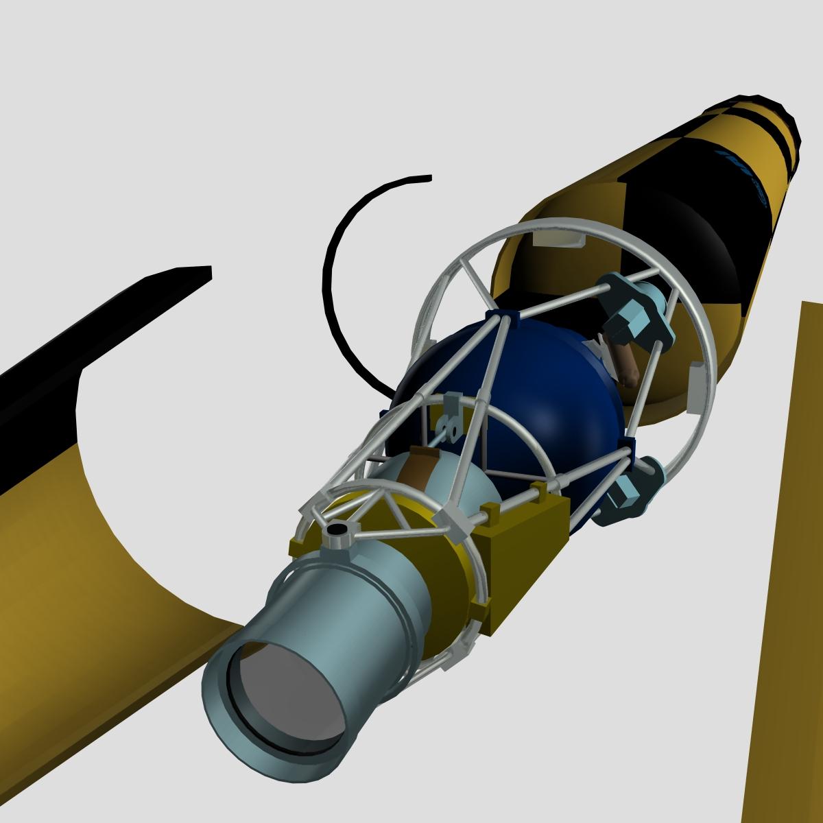 israeli arrow 3 missile 3d model 3ds dxf cob x other obj 136286