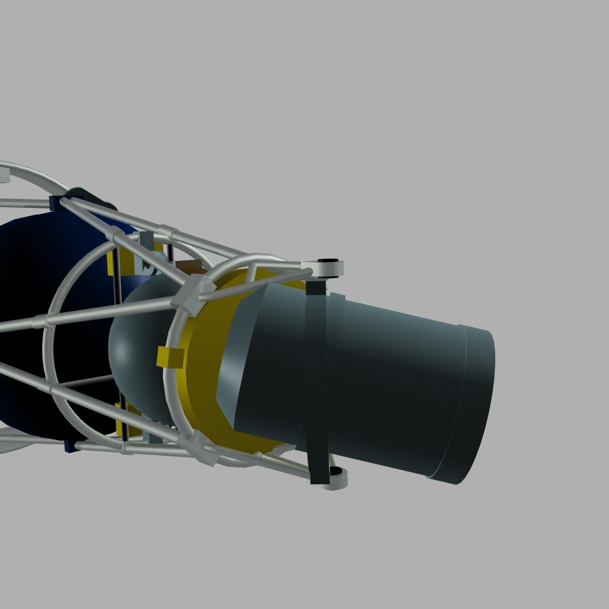 israeli arrow 3 missile 3d model 3ds dxf cob x other obj 136293
