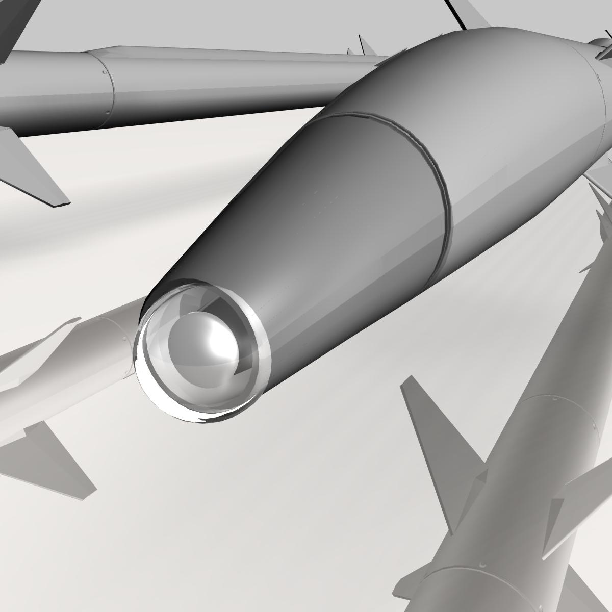 israeli stunner missile 3d model 3ds dxf cob x obj 150544