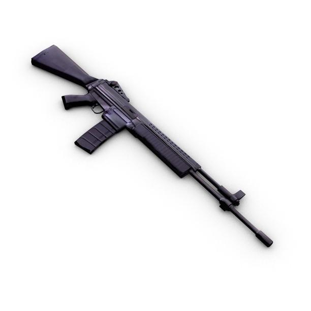 m96 mūsdienu šautene 3d modelis 3ds max fbx c4d obj 138692