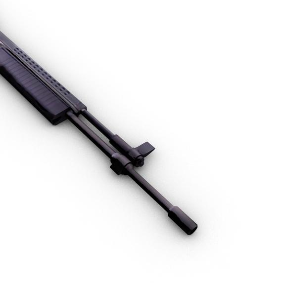 m96 mūsdienu šautene 3d modelis 3ds max fbx c4d obj 138693