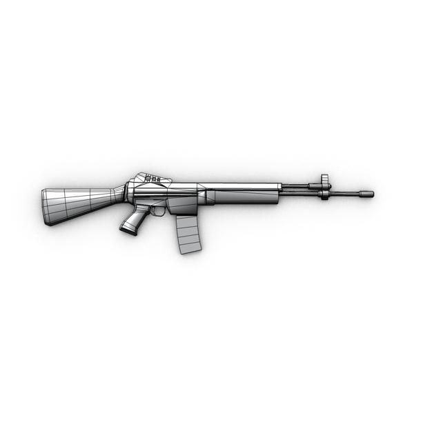 m96 mūsdienu šautene 3d modelis 3ds max fbx c4d obj 138694