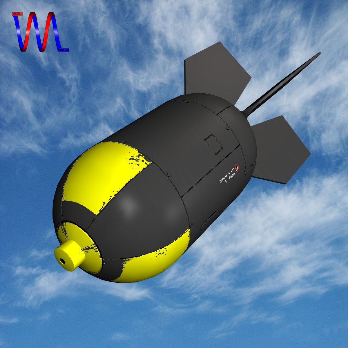 nuclear schemed bomb 3d model 3ds dxf fbx blend cob dae x obj 162653