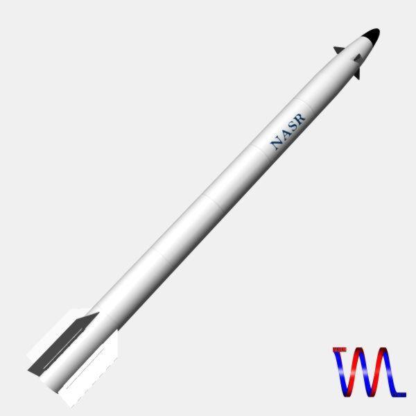 pakistan hatf-ix bsrbm missile 3d model 3ds dxf cob x obj 140240