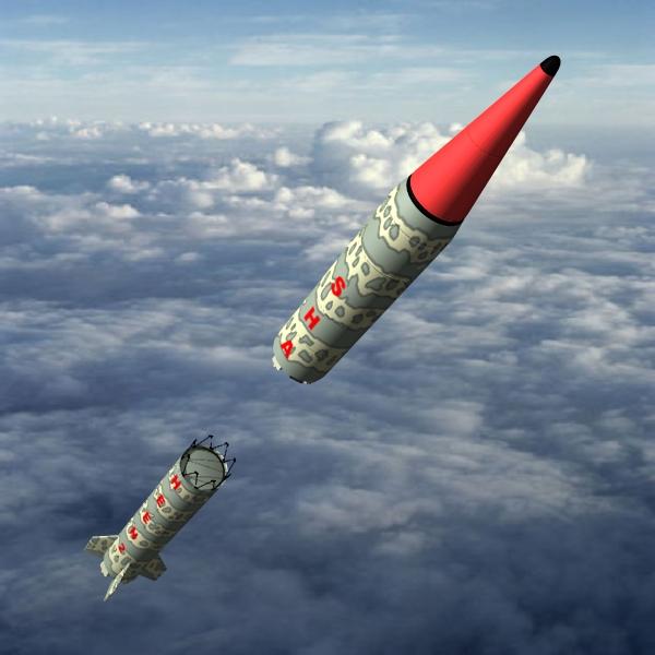 pakistan hatf-vi mrbm missile 3d model 3ds dxf cob x obj 140202