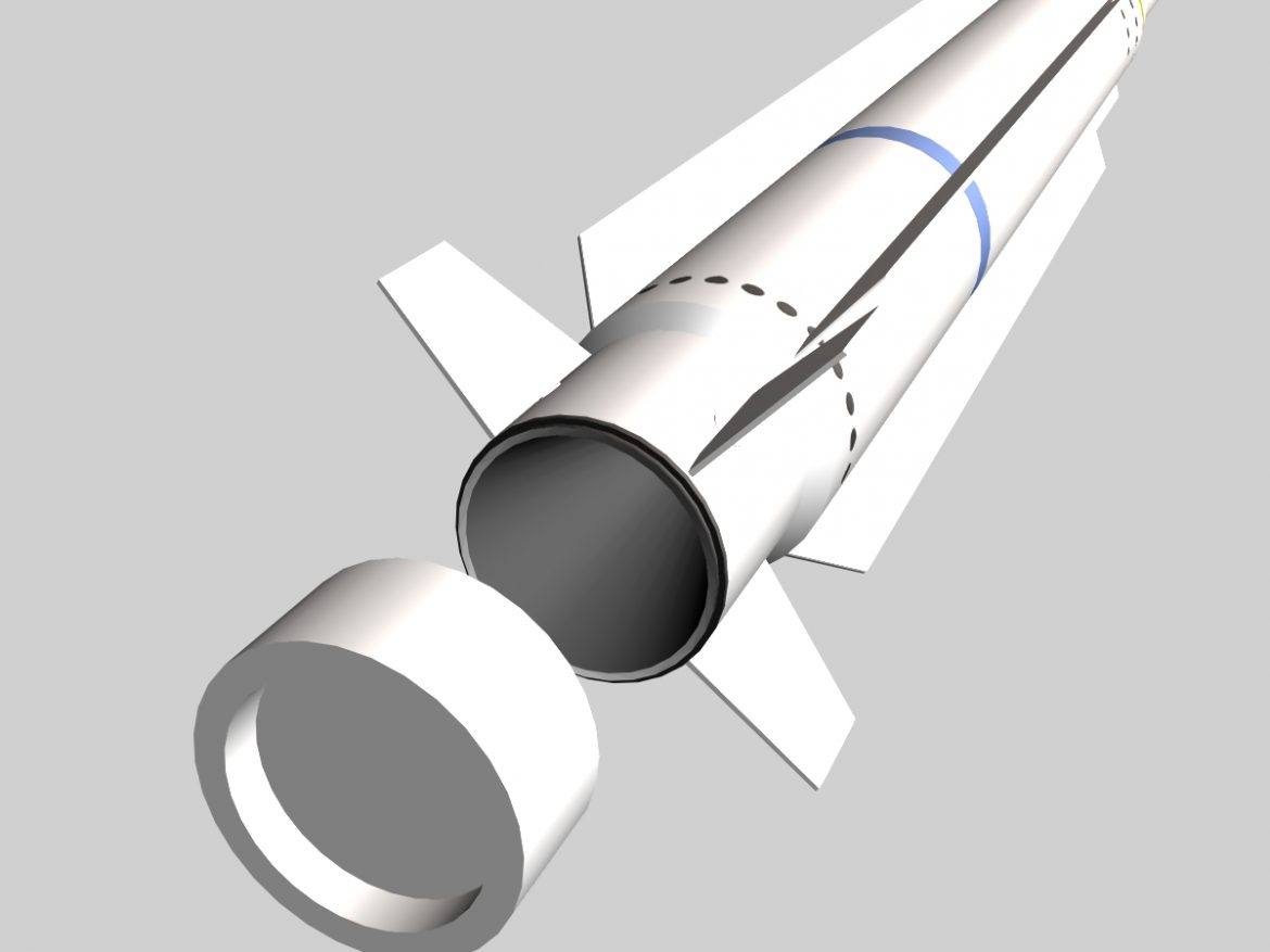 RIM-162 ESSM Missile ( 142.47KB jpg by VisualMotion )