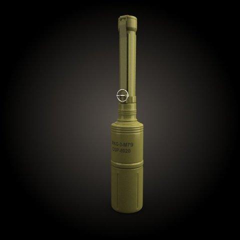 rkg 3 grenade 3d model 3ds max fbx obj 136051
