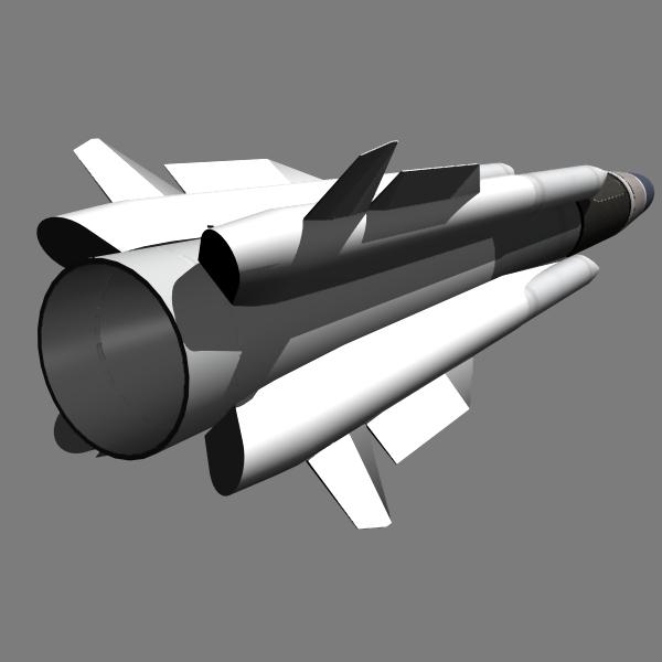 russian as-17 alcm 3d model 3ds dxf fbx blend dae x  cod scn obj 131293